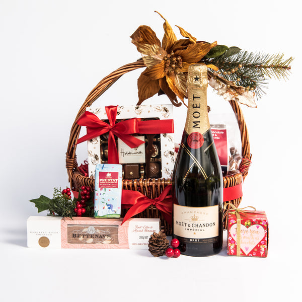 32. JONES THE GROCER CHAMPAGNE & CHOCOLATE HAMPER