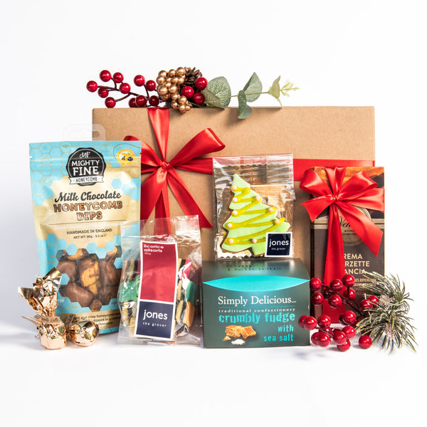 33. JONES THE GROCER CHOCOLATE INDULGENCE HAMPER