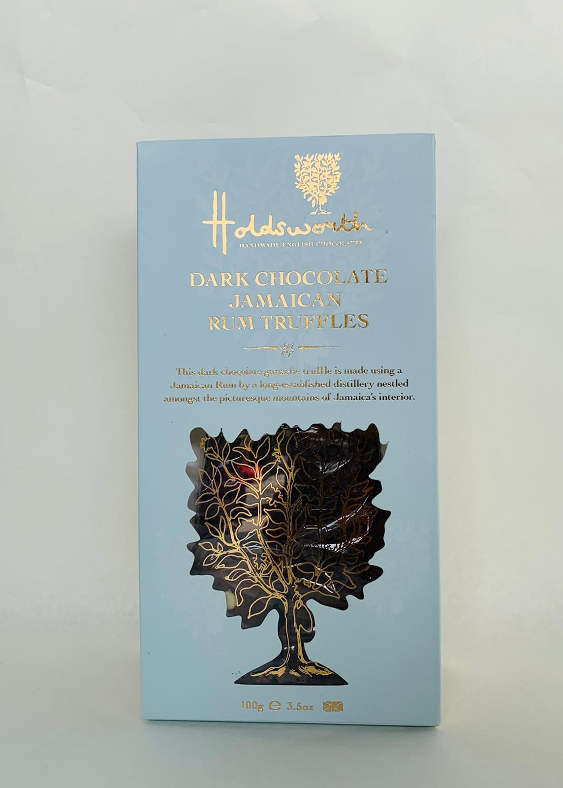 38. HOLDSWORTH DARK CHOCOLATE RUM TRUFFLES - 100G - Swiss Butchery | A Cut Above | Premium Butchers Since 1994