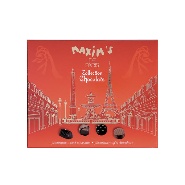 37. MAXIM'S DE PARIS COLLECTION CHOCOLATS - 76G