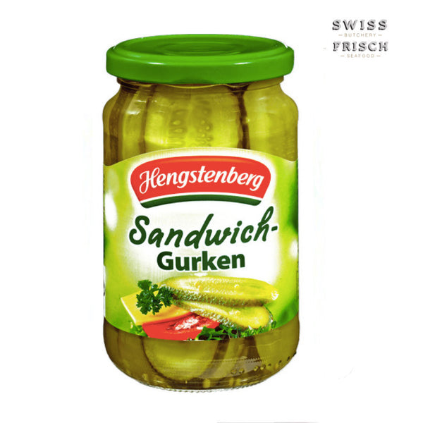 Hengstenberg Gherkins Sandwich Sliced