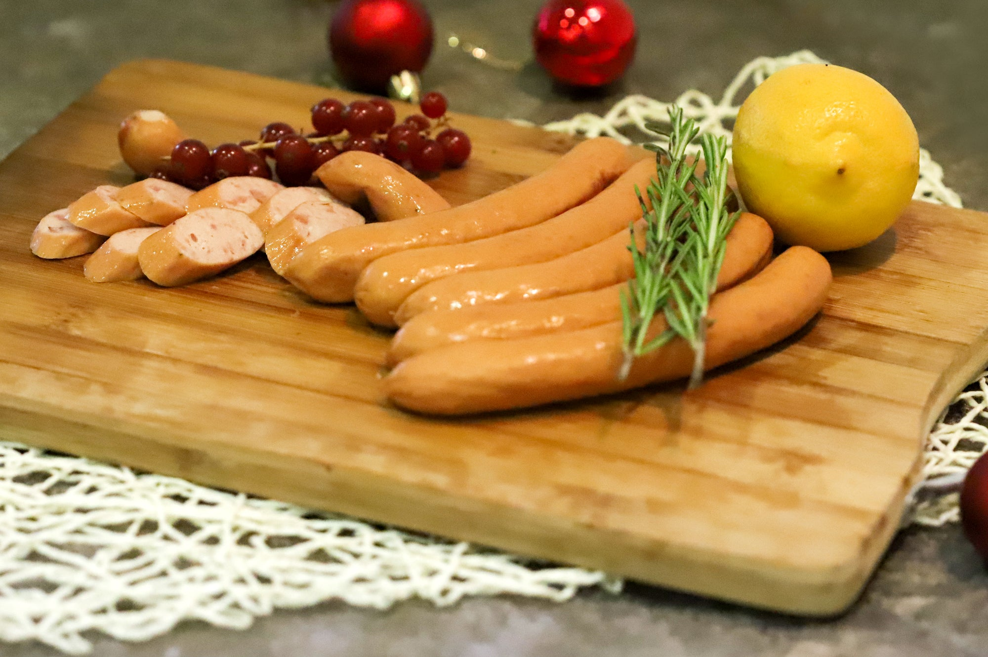 23. SMOKED BACON SAUSAGE - 300G - Swiss Butchery | A Cut Above | Premium Butchers Since 1994