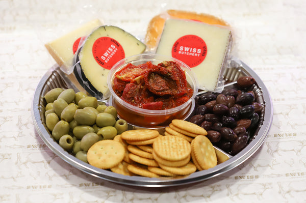 29. GOURMET CHARCUTERIE PLATTER WITH OLIVES