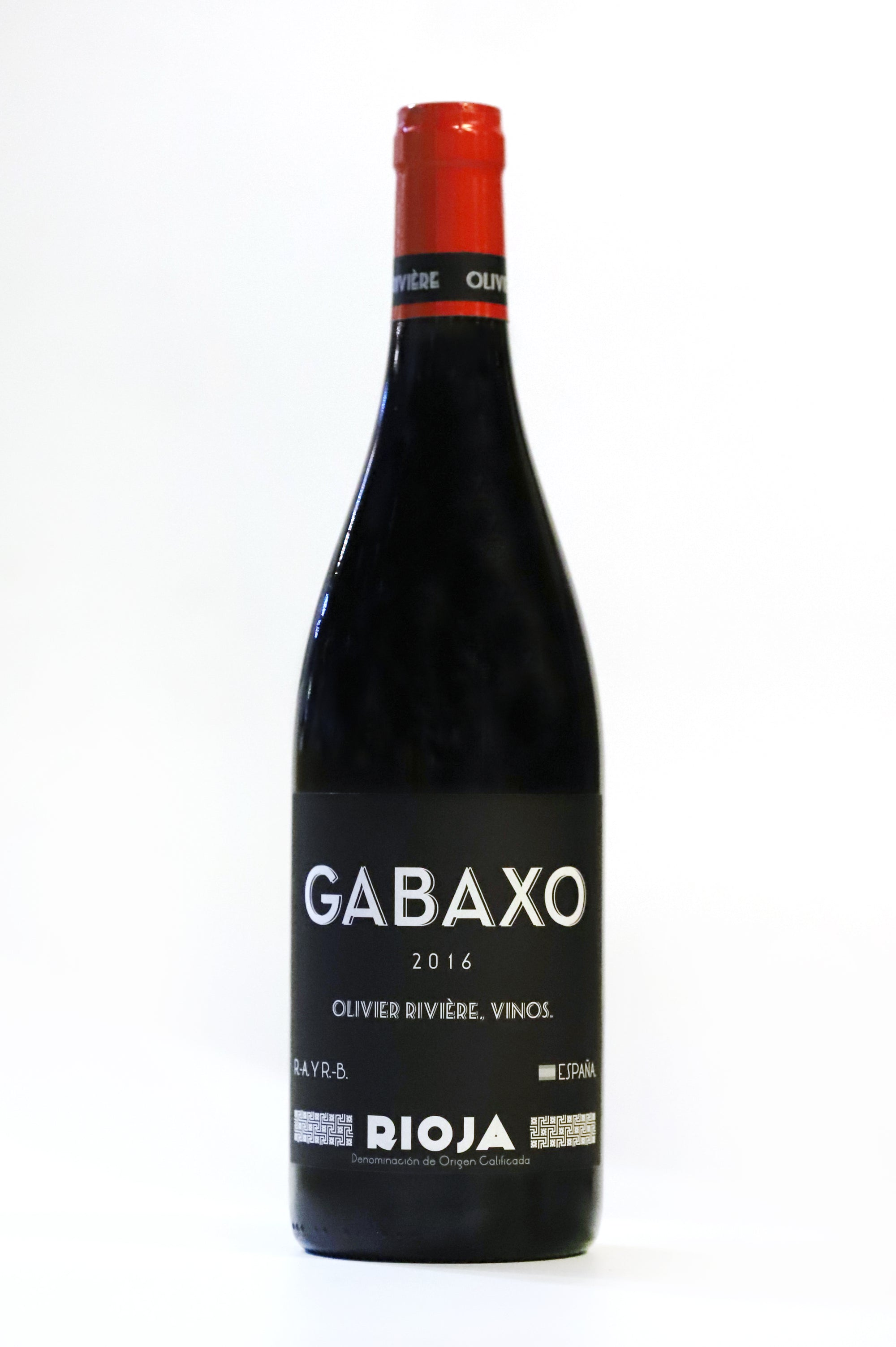 102. OLIVIER RIVIERE GABAXO ROUGE 2016 - 750ML - Swiss Butchery | A Cut Above | Premium Butchers Since 1994