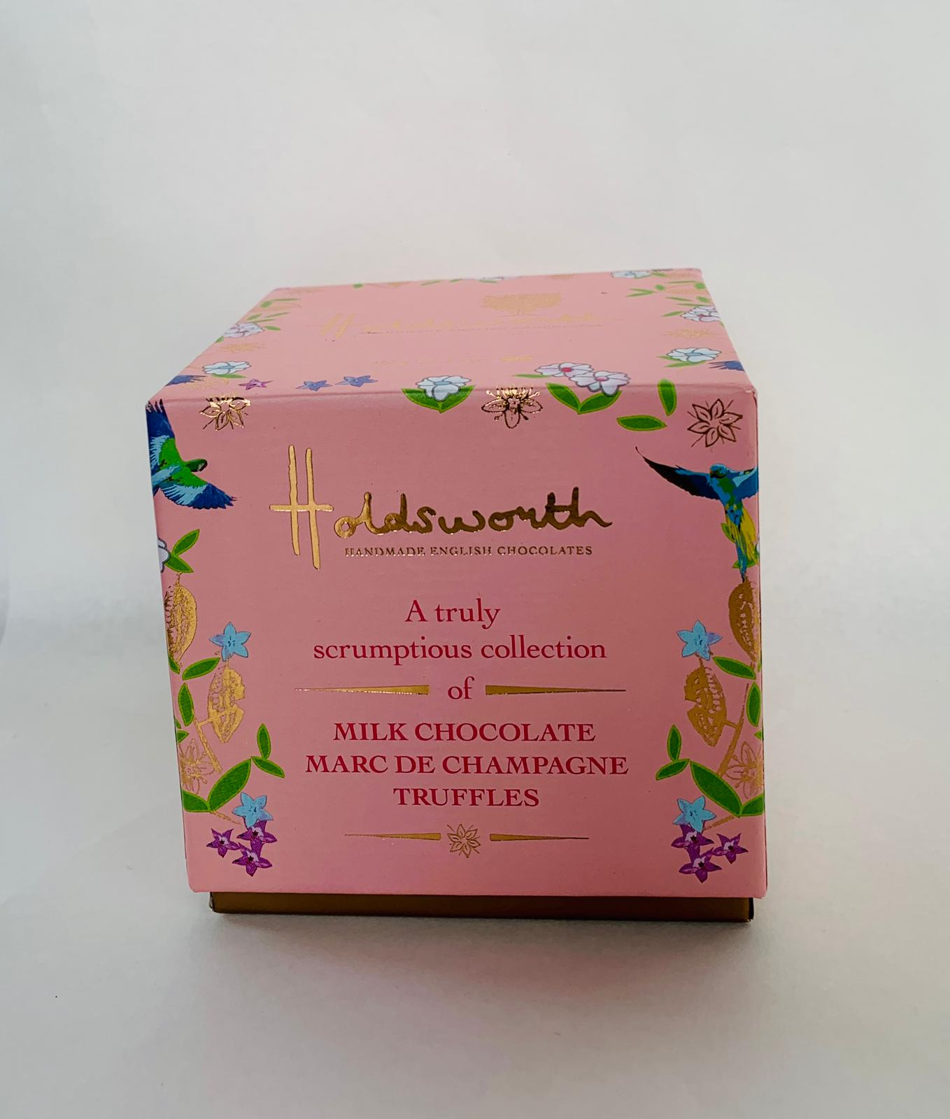 39. HOLDSWORTH MILK CHOCOLATE MARC DE CHAMPAGNE TRUFFLES - Swiss Butchery | A Cut Above | Premium Butchers Since 1994