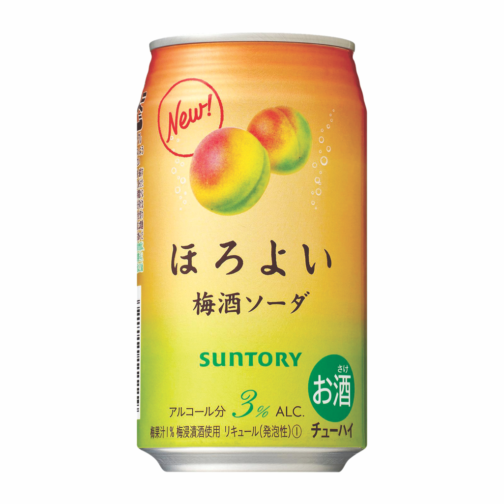 83) Suntory Horoyoi Umeshu Soda 350ml