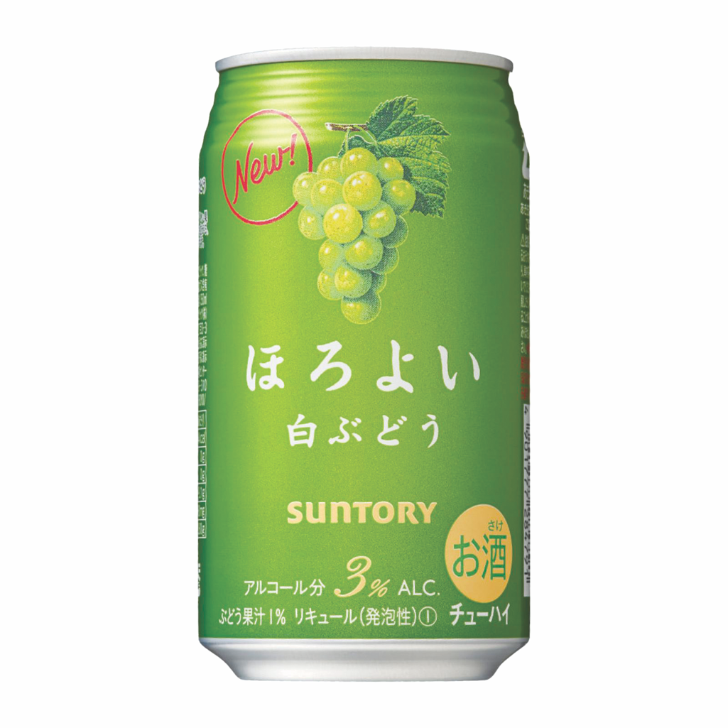 85) Suntory Horoyoi White Grape 350ml