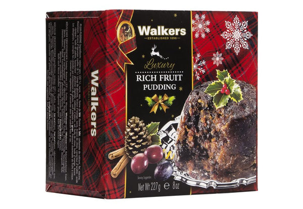 70. WALKERS RICH FRUIT PUDDING - 227G