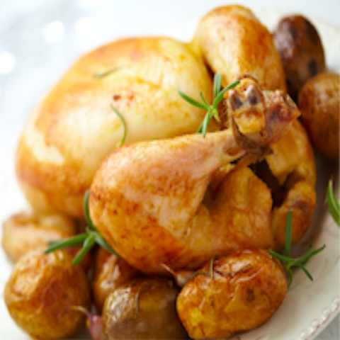 Jumbo Roast Chicken
