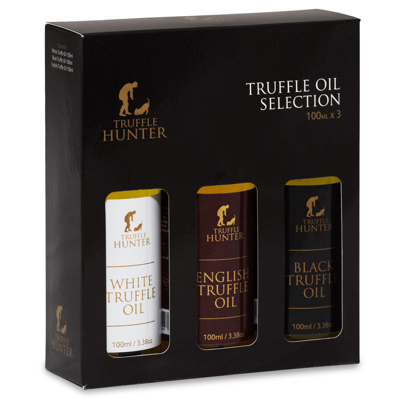 74. TRUFFLE HUNTER TRUFFLE OIL SELECTION 3 X 100ML (WHITE, BLACK, ENGLISH OIL) - Swiss Butchery | A Cut Above | Premium Butchers Since 1994