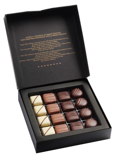 72. VALRHONA GIFT BOX OF 16 ASSORTED FINE CHOCOLATE - 165G - Swiss Butchery | A Cut Above | Premium Butchers Since 1994