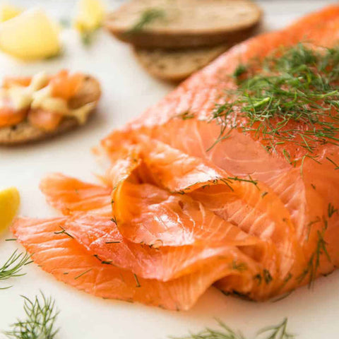 40. Smoked Salmon Fillet ~200g