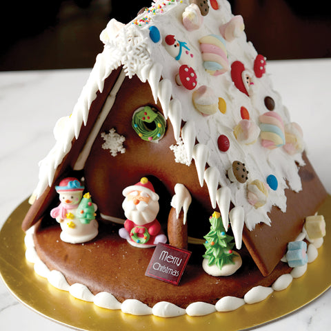 44. Gingerbread House D32cm x H23m