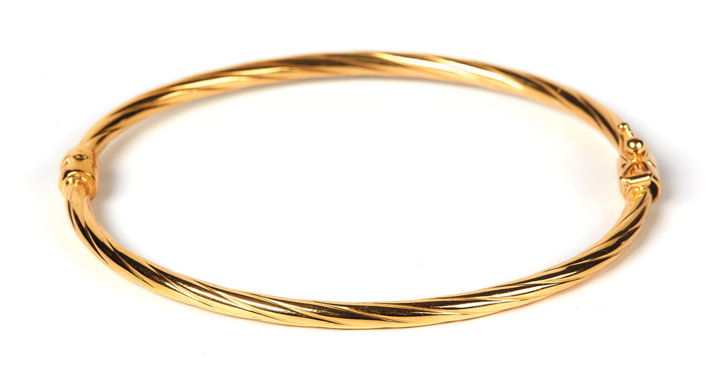 Adela Twisted Bangle GP