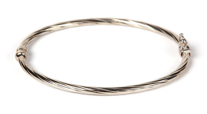 Adela Twisted Bangle SS