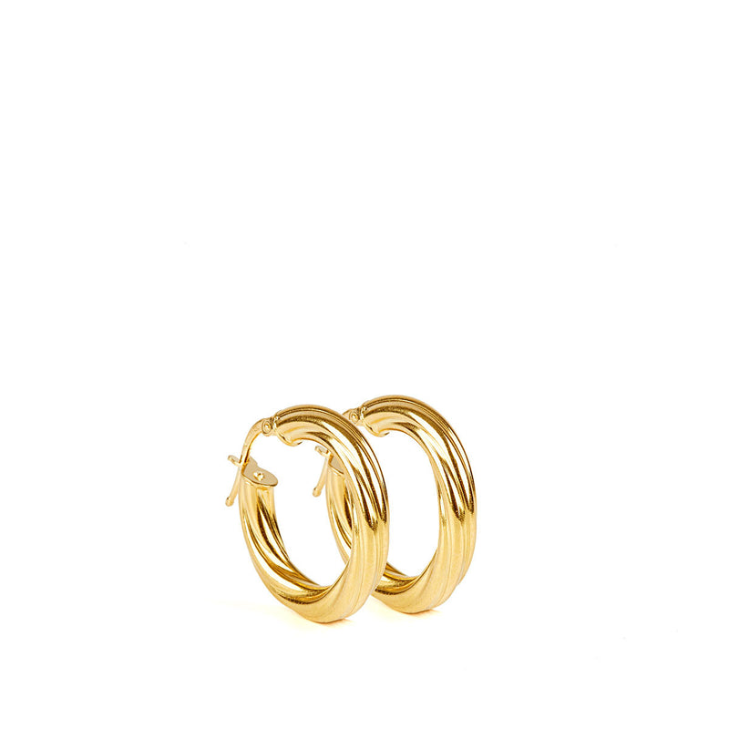 Alta Earrings GP - 15mm