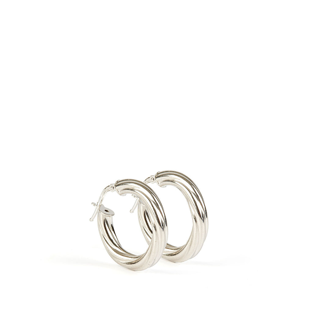 Alta Earrings SS - 15mm