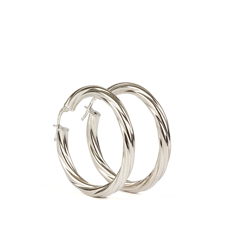 Alta Earrings SS - 30mm
