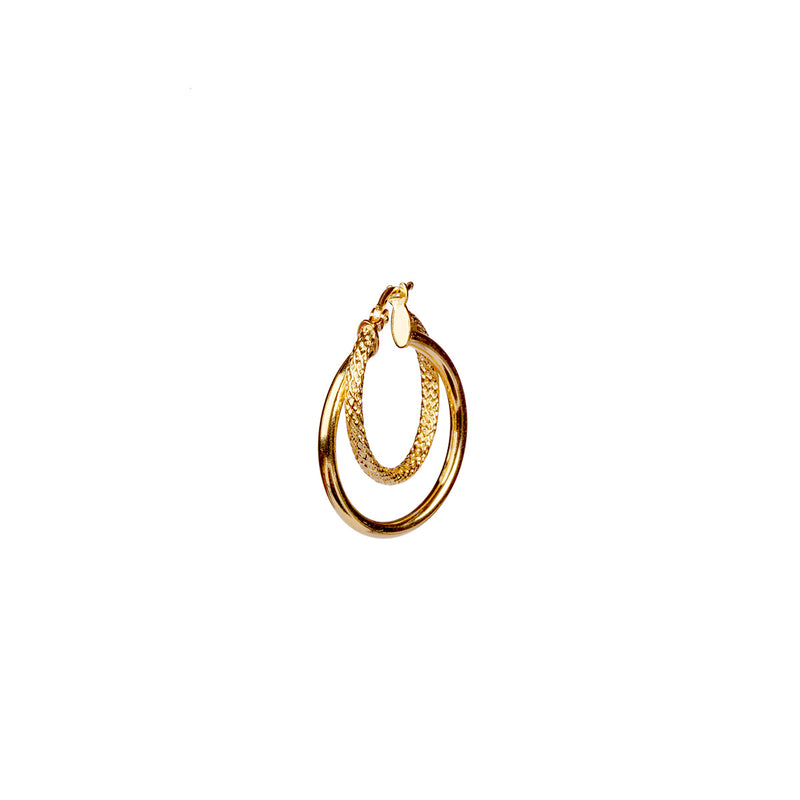 Alva Earring 25mm - Gold