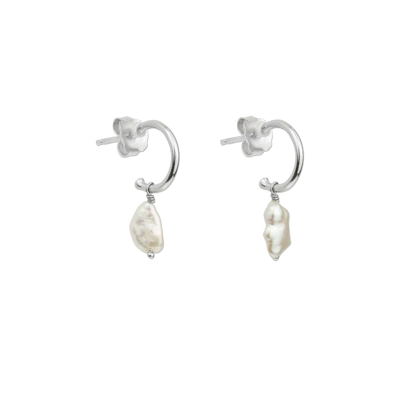 Andrea Earrings - Silver