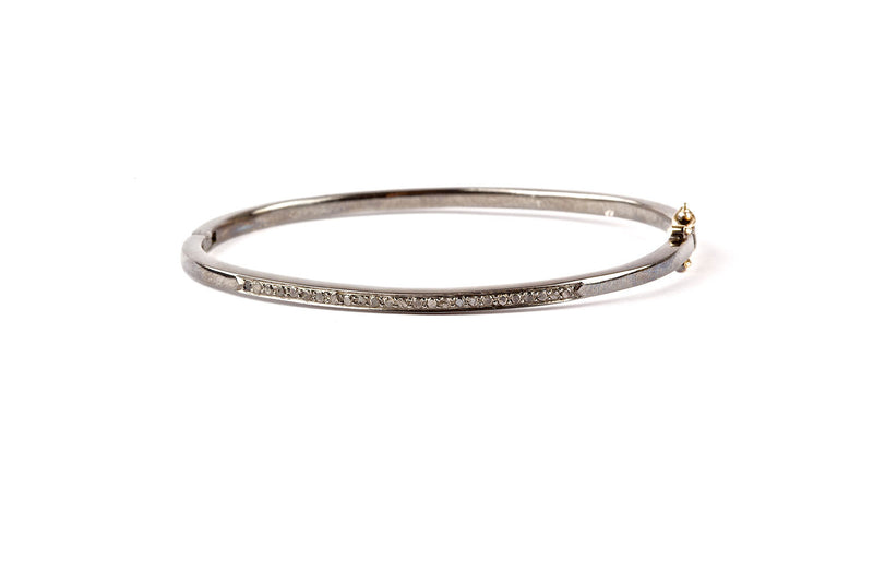 Black Diamonds Bangle