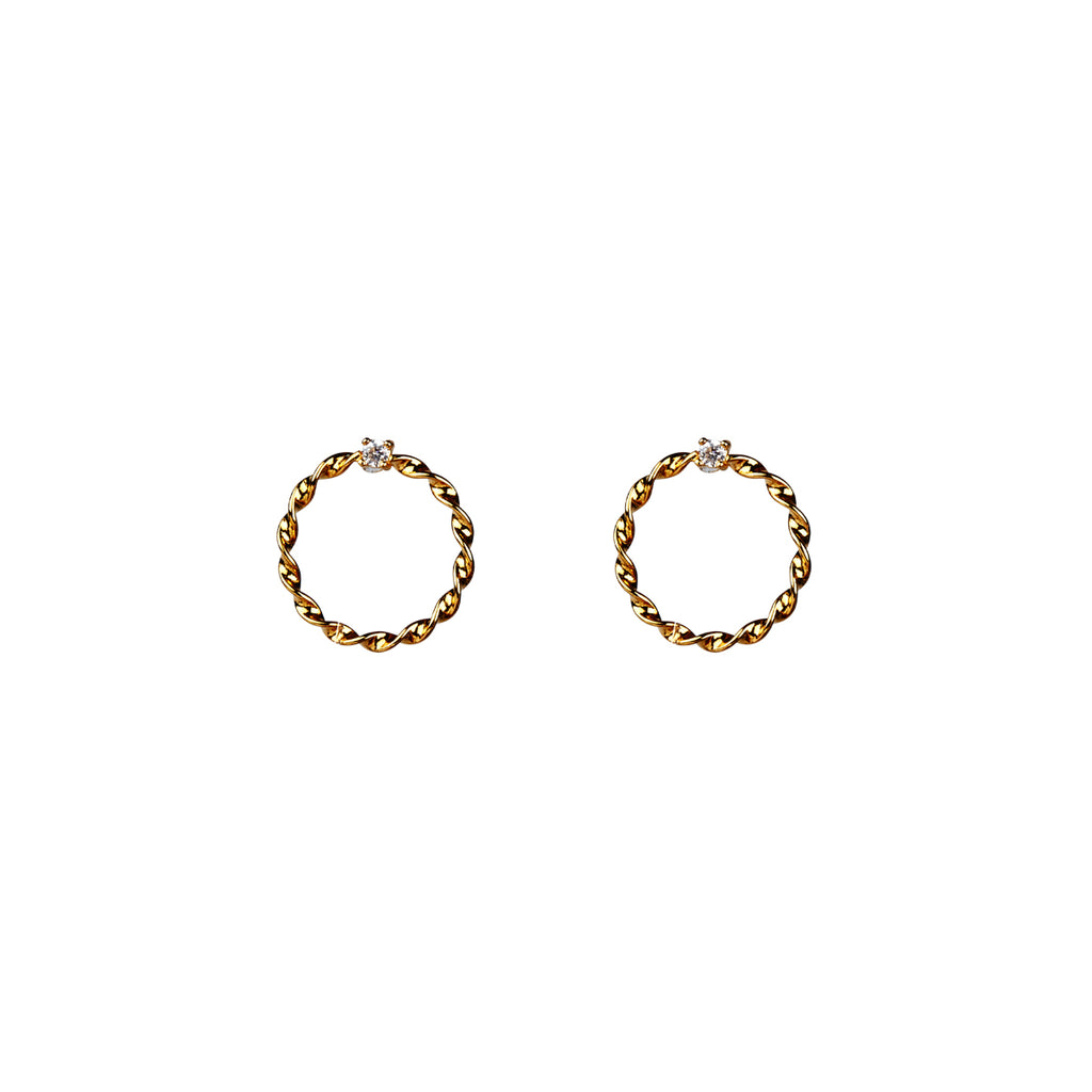 Carli Earrings - Gold