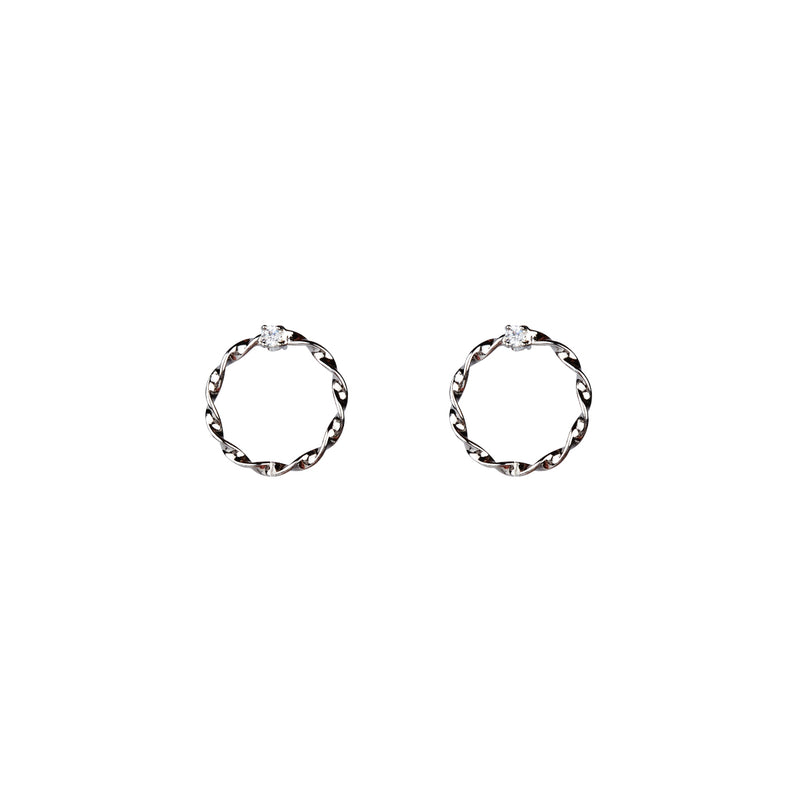 Carli Earrings - Silver