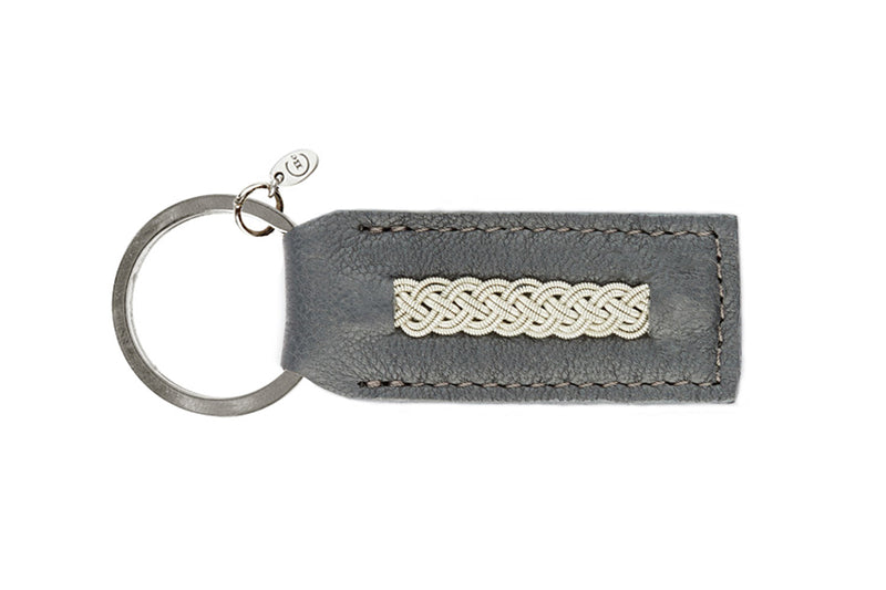 Celtic Keyring Grey Jeans