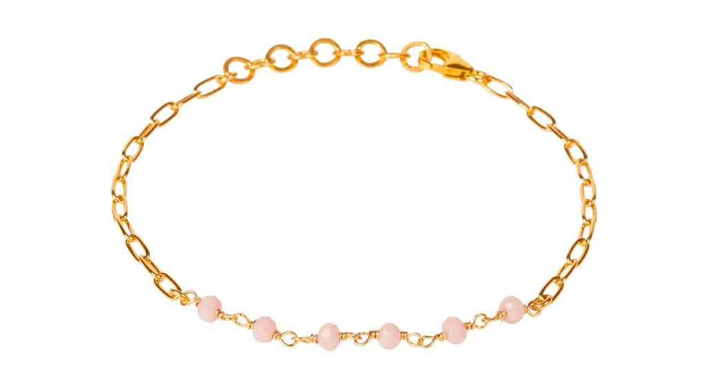 Daisy Rose Bracelet - Gold