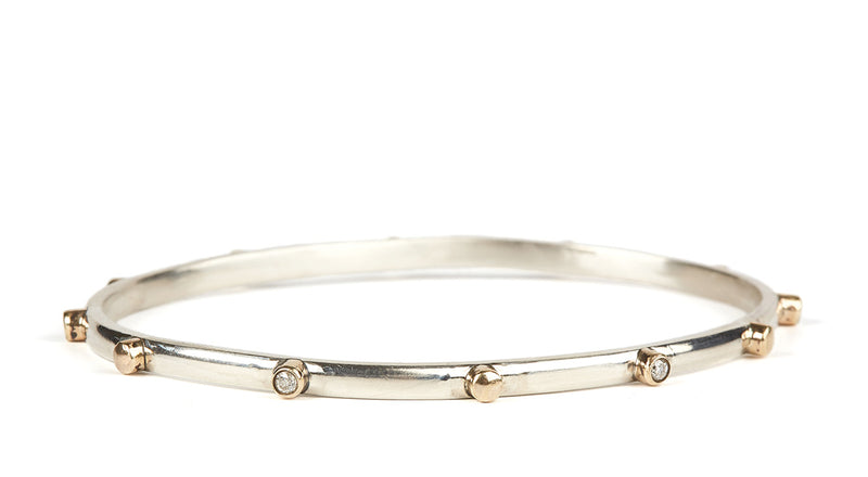 Dot Diamond Bangle
