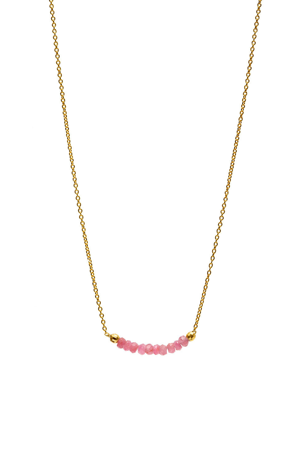 nancy catbird sapphire kraskin disc nancykraskin pinksapphirediscnecklace necklace pink save