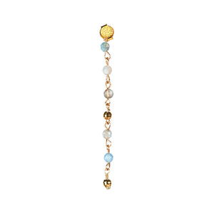 Ester Aquamarine Earring - Gold