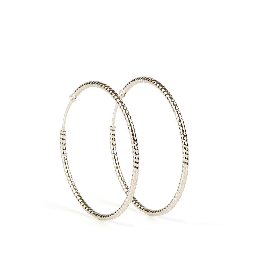 Floro Earrings SS - 40 mm