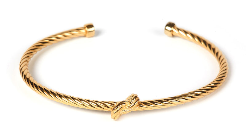 Gretha Knot Bangle GP