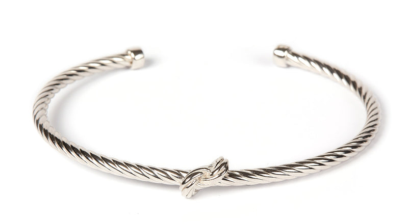 Gretha Knot Bangle SS