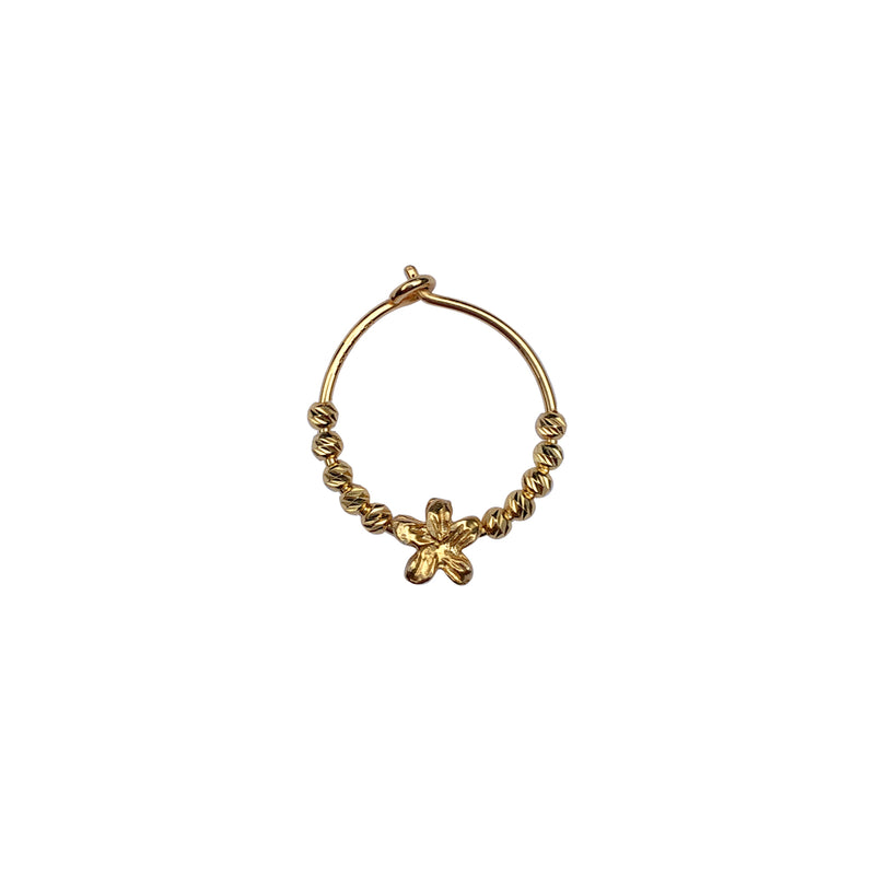 Gry Earring Flower - Gold