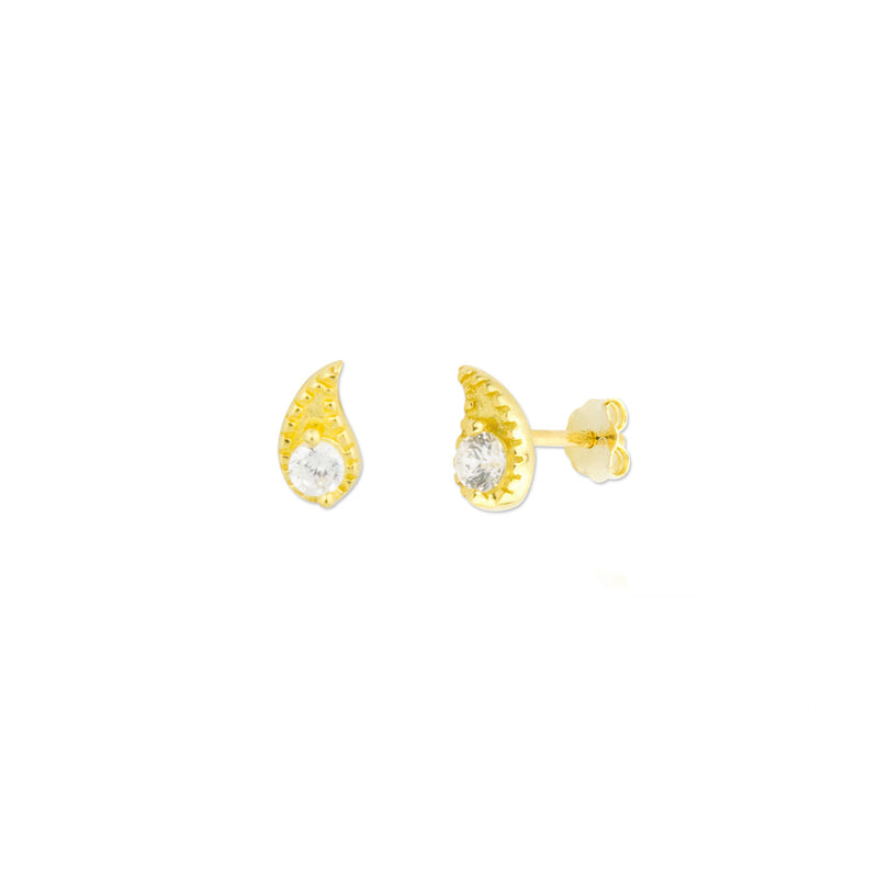Hazel Earrings - Gold