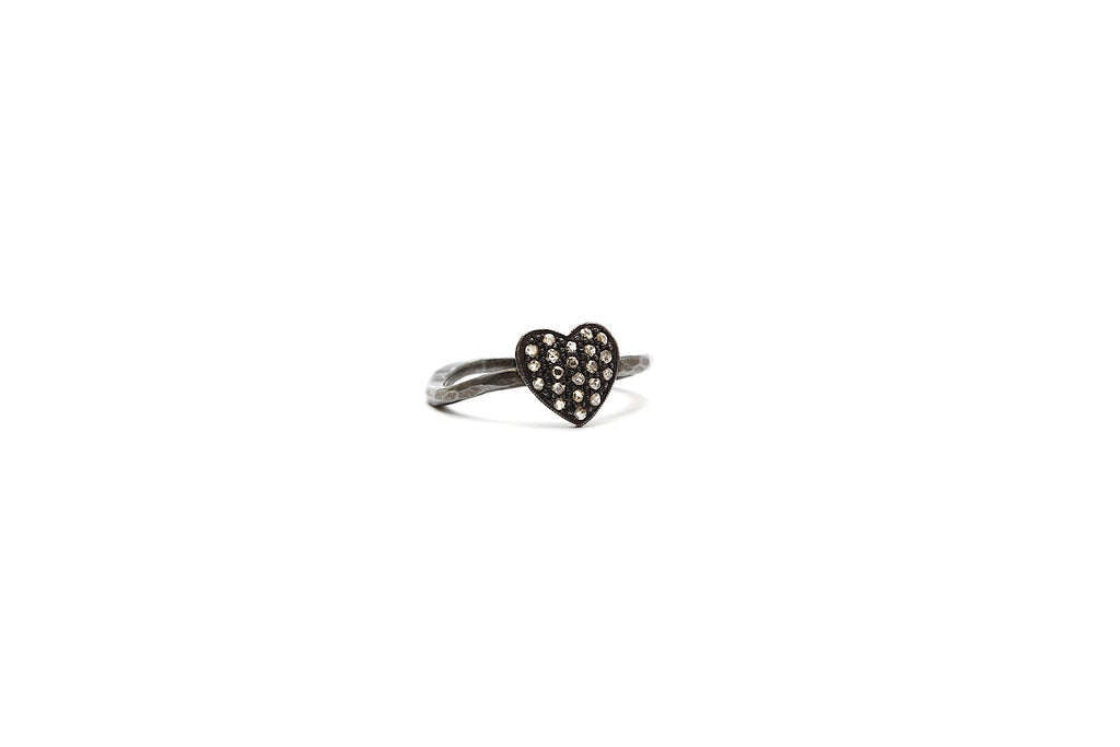 Heart Diamond Ring OX