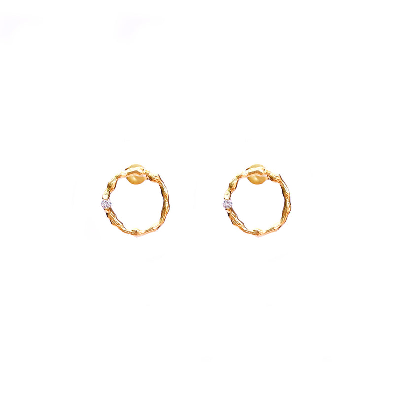 Holly Earrings - Gold
