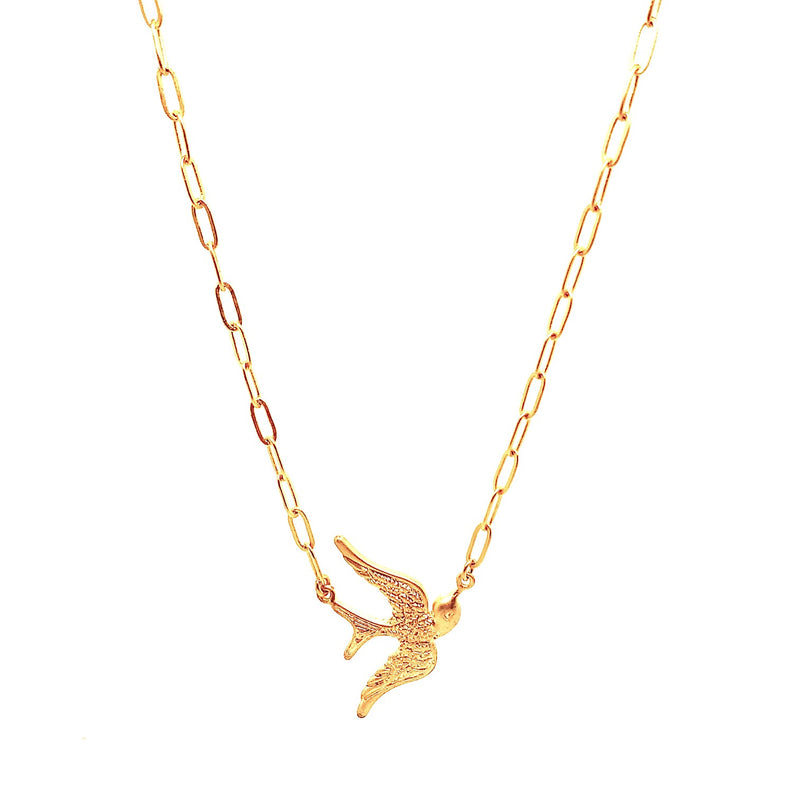 Lady Dove Chain necklace - Gold