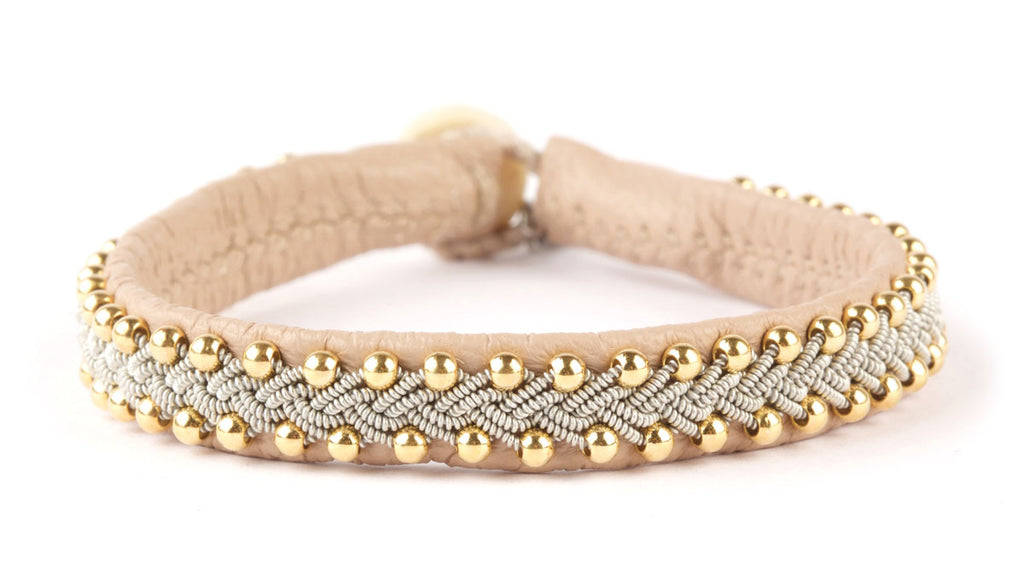 Inga Gold Beads Nude