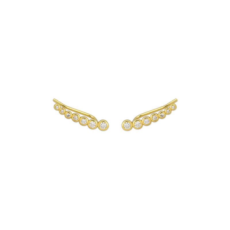 Josie Earrings - Gold