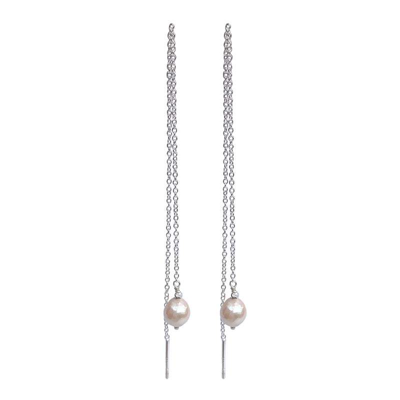 Linea Pearl Earrings SS