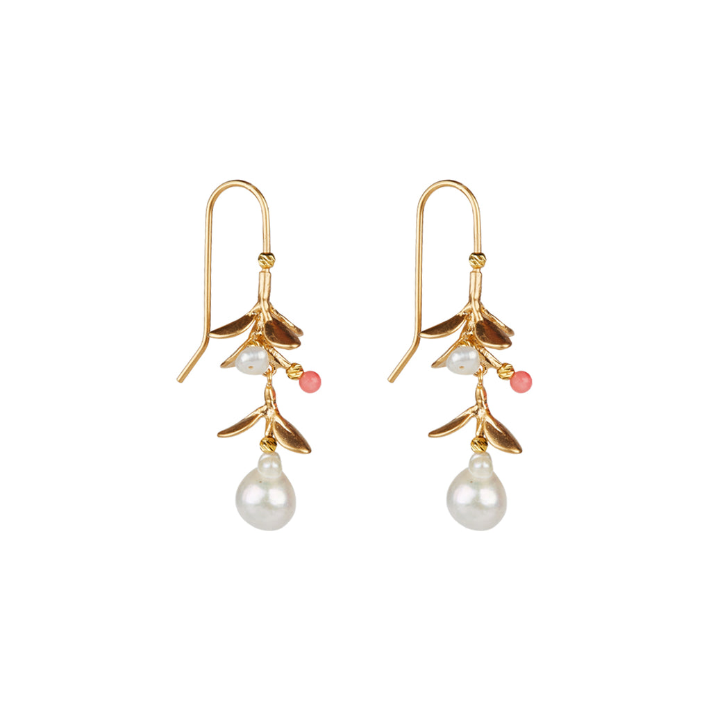 Miranda Rose Earrings - Gold