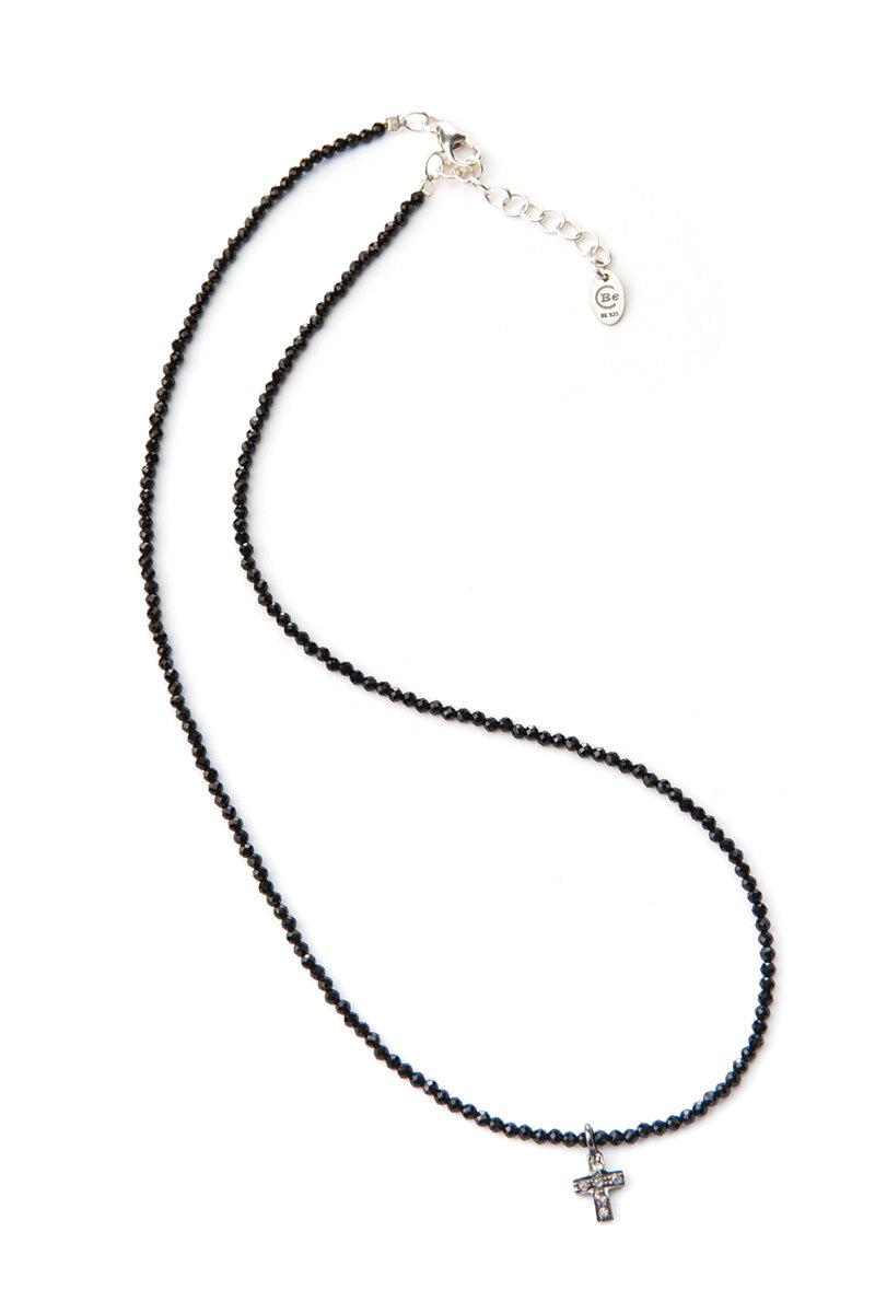 Noora Diamond Necklace - Cross SS