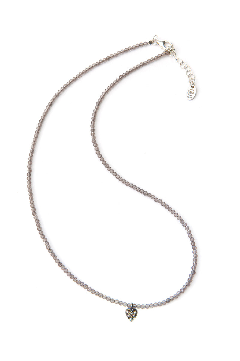 Noora Diamond Necklace - Heart SS