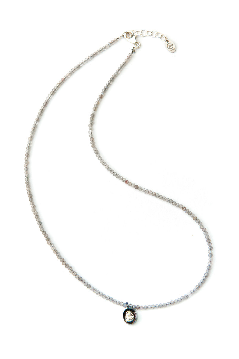 Noora Polki Diamond Necklace