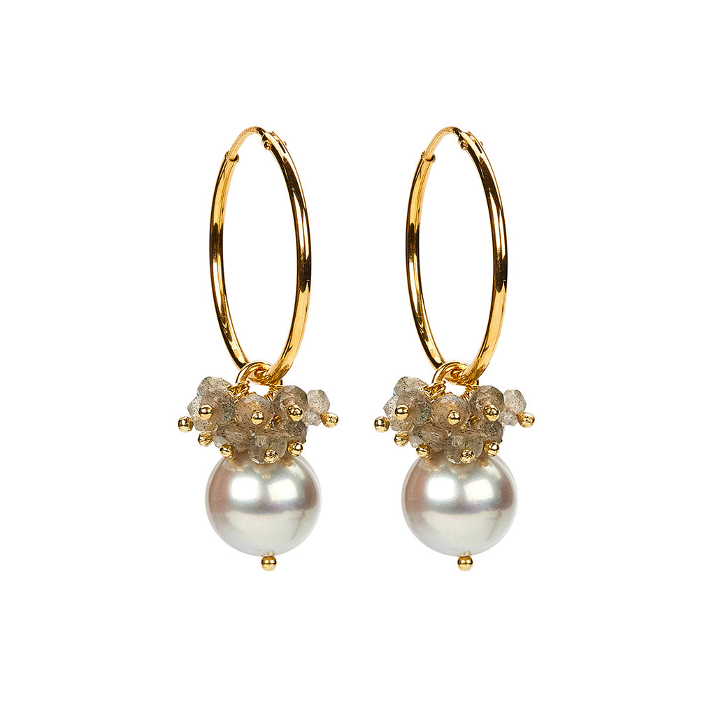 Philine Earring Grey GP