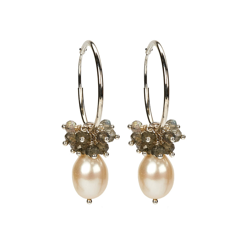 Philine Earring White SS
