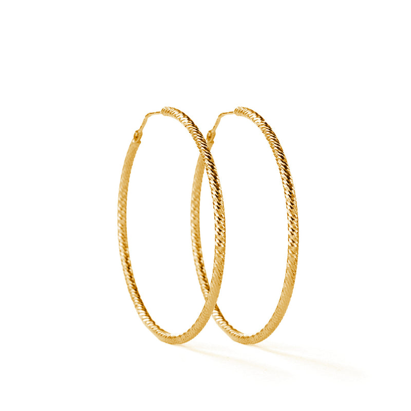 Roda Earrings GP - 40 mm